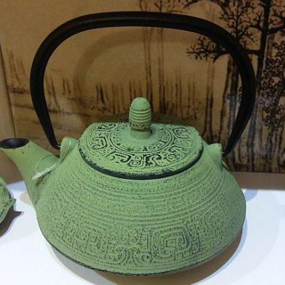Una de las teteras de estilo oriental.
