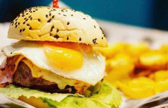 La hamburguesa bomba de Taco Bros