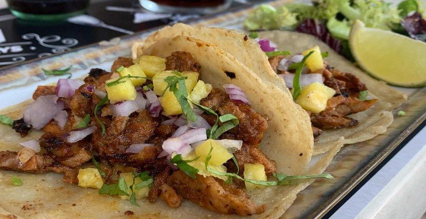Los tacos de Sedona Bar y Grill