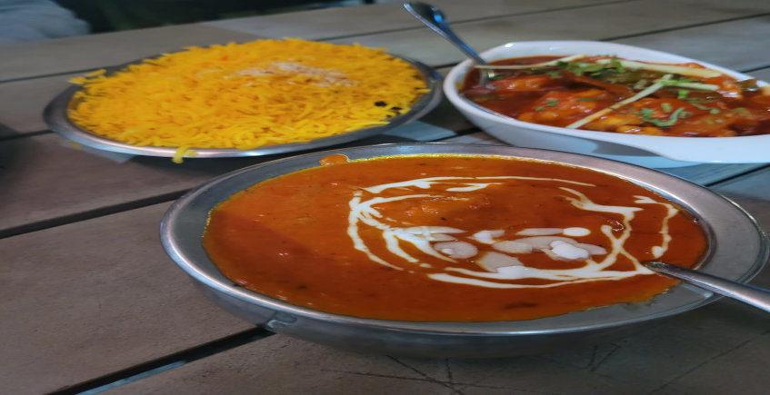 Los platos de Taj Mahal