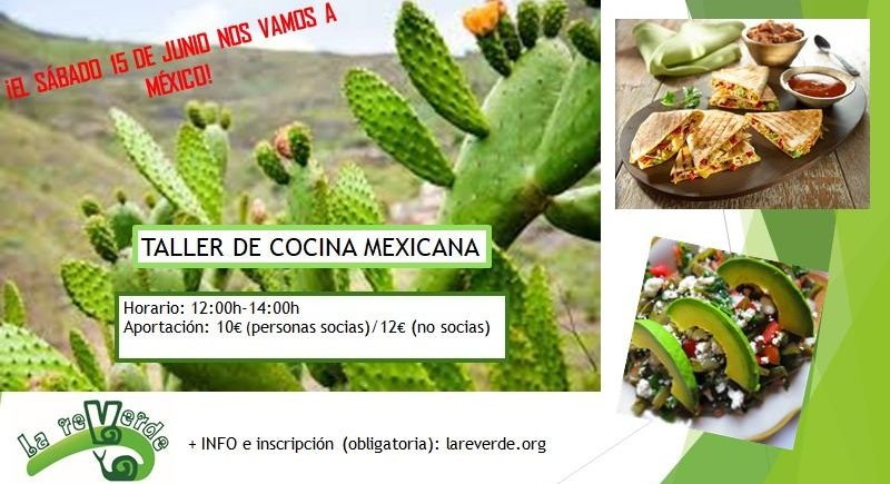 Taller de Cocina Mexicana en La Reverde de Jerez