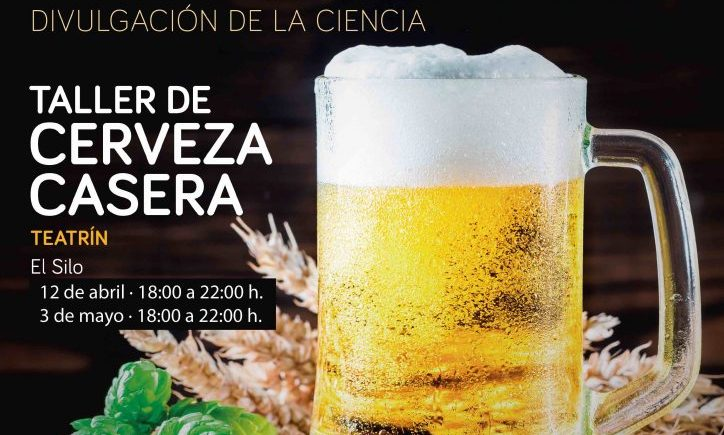 12 de abril y 3 de mayo. Jimena. Taller gratuito de cerveza casera