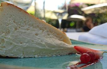 La tarta de queso de El Laúl