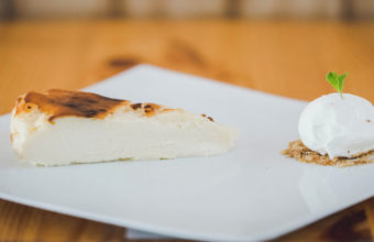 La tarta de queso de El Árbol Tapas