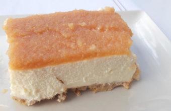La tarta de queso y membrillo del Mesón Iptuci