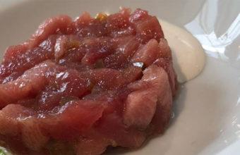 El tartar de atún de Sopranis