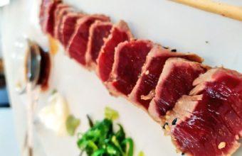 El tataki de atún de Casa Varo