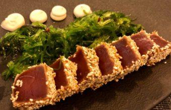 El tataki de atún del Tinte Superbar