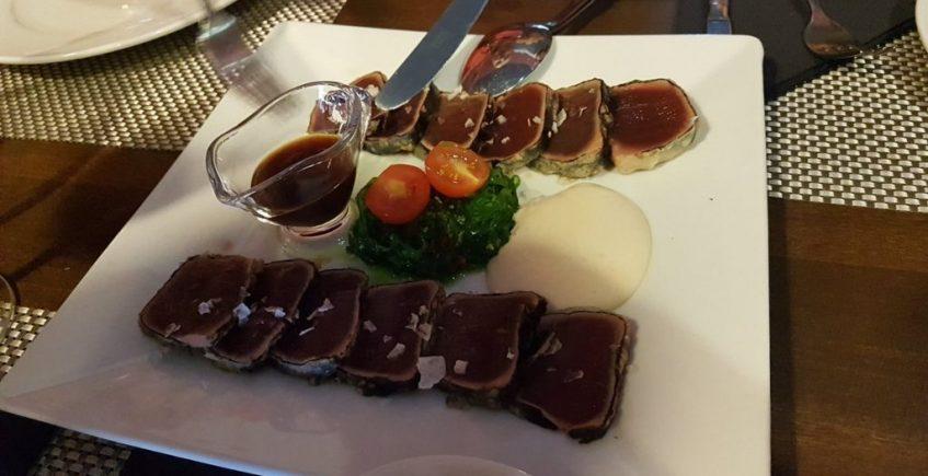El tataki de atún de La Trastienda de Lusol