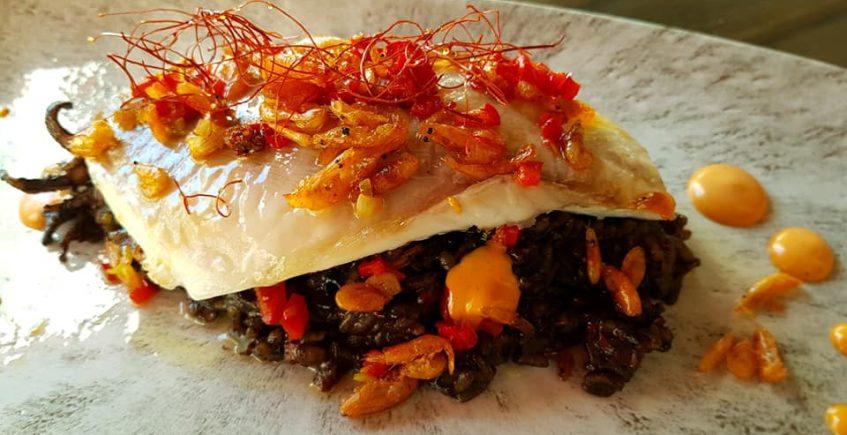 El besugo con arroz cremoso de Tempus Fugit