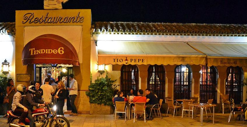 11 de octubre. Jerez. Cata maridada en el restaurante Tendido 6