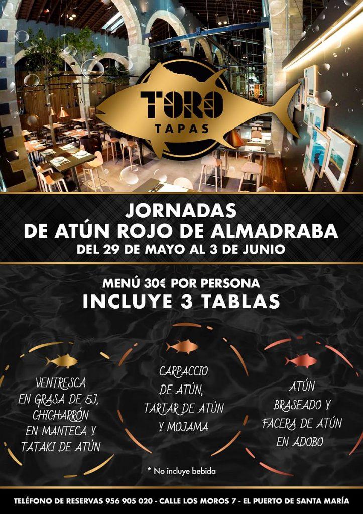 ToroTapas-ElPuerto-Cartel-Jornadas-Atun-Rojo-Almadraba847