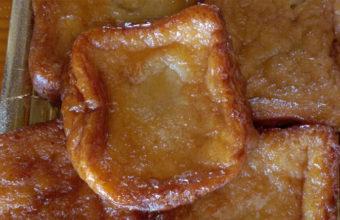 Las torrijas de la panadería de Fernando Damián