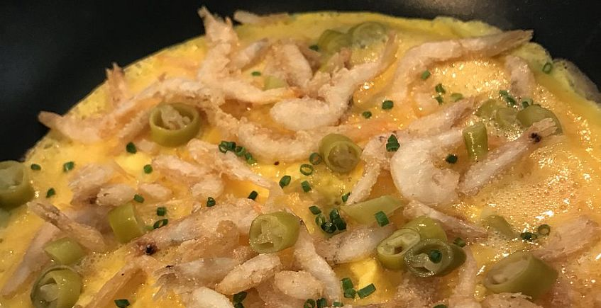 La tortilla vaga de La Taberna del Chef del Mar