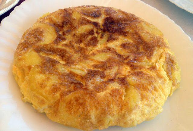La tortilla de patatas de la Venta El Macka