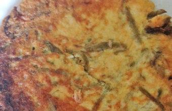 La tortilla de espárragos de la Venta Rosario