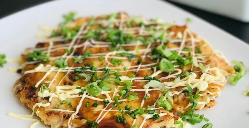La tortilla japonesa de Pink Pepper de Rota
