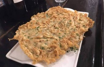 Las tortillitas de camarones de A proa