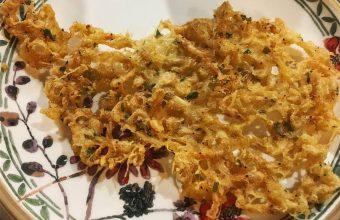 Las tortillitas de camarones del Ventorrillo El Chato
