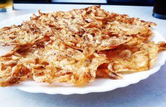 Las tortillitas de camarones del bar León