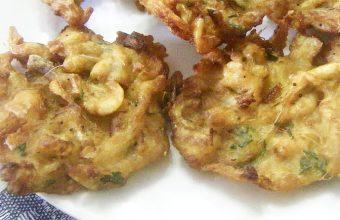 Las tortillitas de camarones abuñoladas del Mosto El Piraña