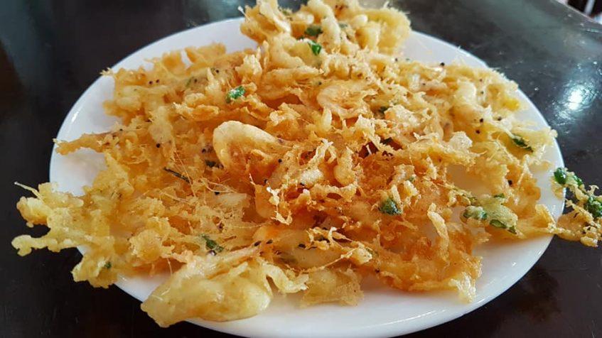 Tortillitas camarones Balbino