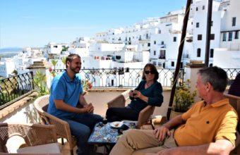 Rutas de vinos de Jerez y tapas en Vejer de la Frontera