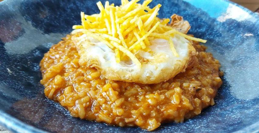El arroz con zurrapa de lomo en manteca de Variopinto