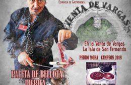 II Concurso Nacional de Corte de Paleta Florencio Sanchidrián en Venta de Vargas