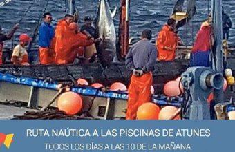 De julio a septiembre. Barbate. Ruta náutica por las piscinas de atunes