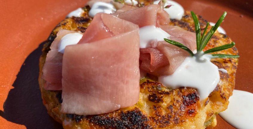 Zopa con tarantelo de atún rojo de El Campero