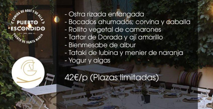 Cata maridaje por el quinto aniversario de Puerto Escondido de El Puerto