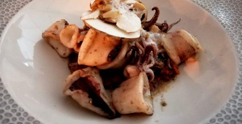 El wok de chipirones de Tempus Fugit