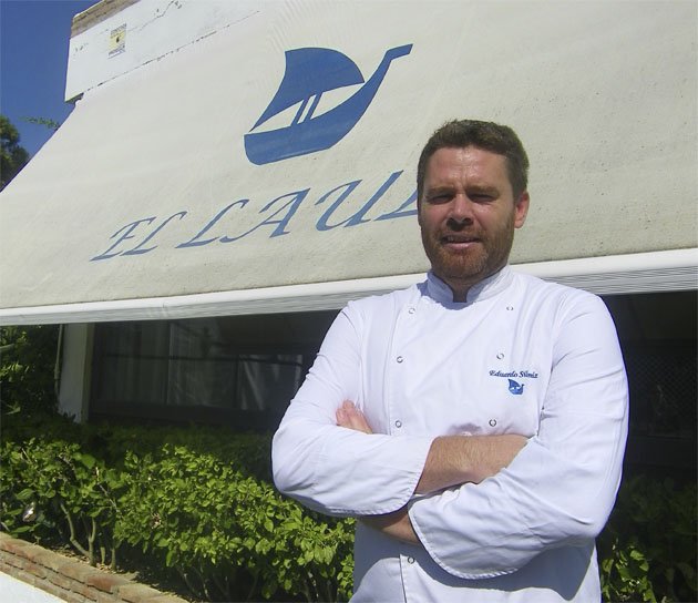 El cocinero Yayo Siloniz de El Lául de El Puerto de Santa María. Foto: Cosasdecome