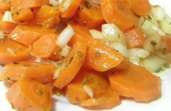 Las zanahorias aliñás del bar Gonzalo