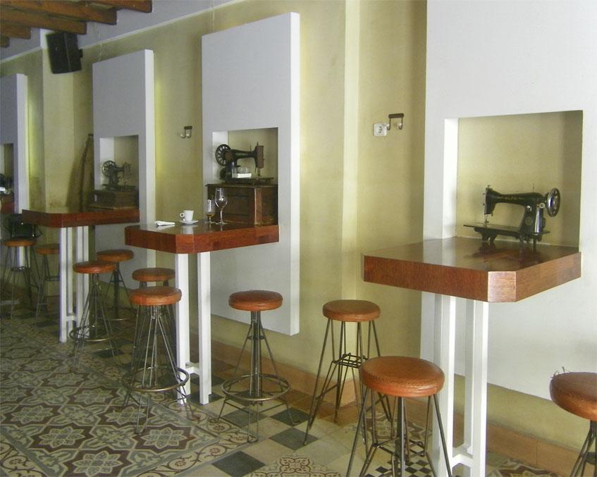 La zona de la barra del establecimiento. Foto: Cosasdecome
