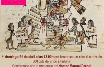 21 de abril. Sanlúcar. Cata de vinos con historia: El vino, sangre de dioses