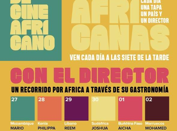 Del 27 de abril al 3 de mayo. Tarifa. Actividades gastronómicas con motivo del Festival de cine africano