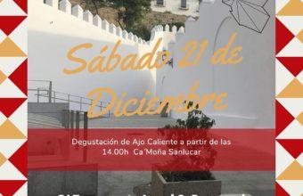 Degustación de Ajo Caliente en Ca'Moña de Sanlúcar
