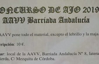 23 de febrero. Sanlúcar. Concurso de Ajo de la Barriada Andalucía