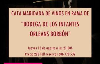 Cata de vinos de Bodegas de los Infantes de Orleans Borbón