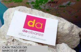 """Cata """"Los pagos del Marco de Jerez"""" en Dealbariza"""
