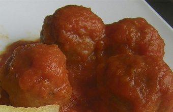 Albondigas de Retinto en tomate del Mesón El Tabanco