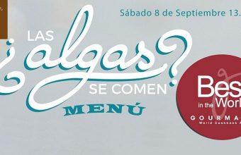 8 de septiembre. Medina Sidonia. Menú Las Algas se comen y charla divulgativa