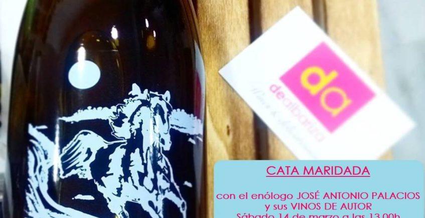 Presentación de los vinos de José Antonio Palacios en Dealbariza (suspendido)