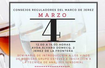 4 de marzo. Jerez. Cursos de análisis sensorial de vinos