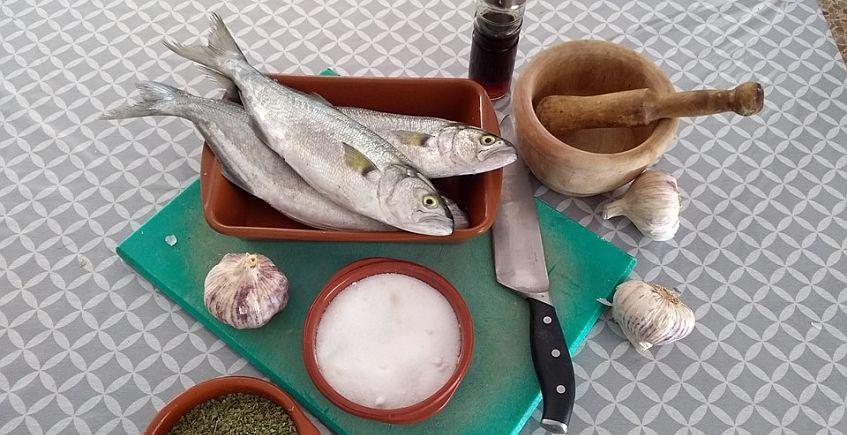 La anchova en adobo de El Dique de Sanlúcar