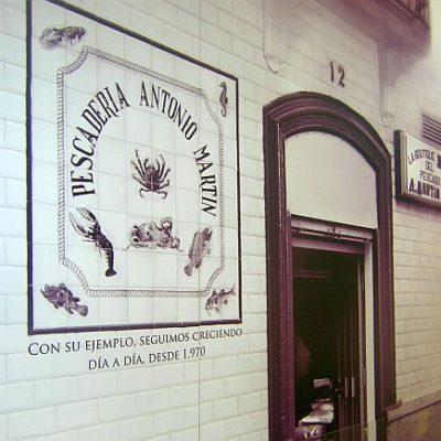 Pescadería Antonio Martín.