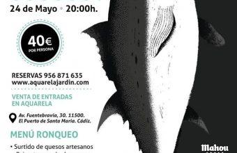 24 de mayo. El Puerto. Ronqueo de atún rojo en Aquarela