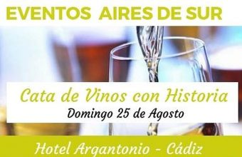 Cata de vinos con historia en el Hotel Argantonio